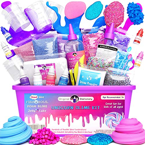 Original Stationery Unicorn Slime para Niñas,...