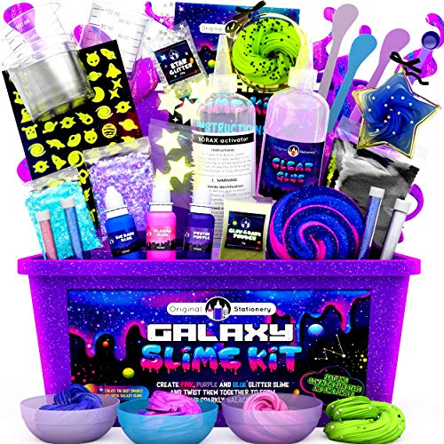 Original Stationery Galaxy Slime para Niñas,...