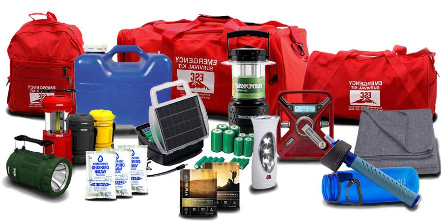 kit de emergencia para catastrofes